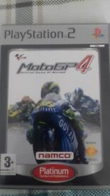 MotoGP4 PS2 game