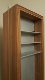 cd dvd book shelf storage display cabinet purves and purves rrp £700