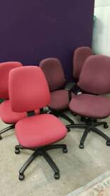 Office chairs £20 each