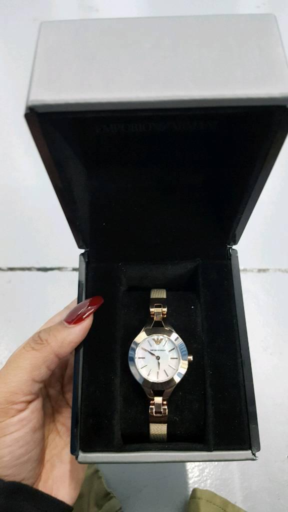 NEW IN BOX Armani Exchange women's designer watch