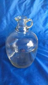 Glass Jug 1/2 gallon approx. Home / wine brewing