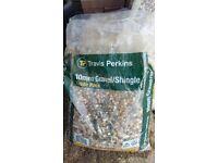 10mm gravel shingle bags