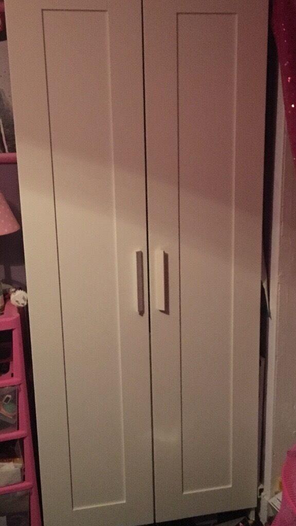 brand new White two door wardrobe