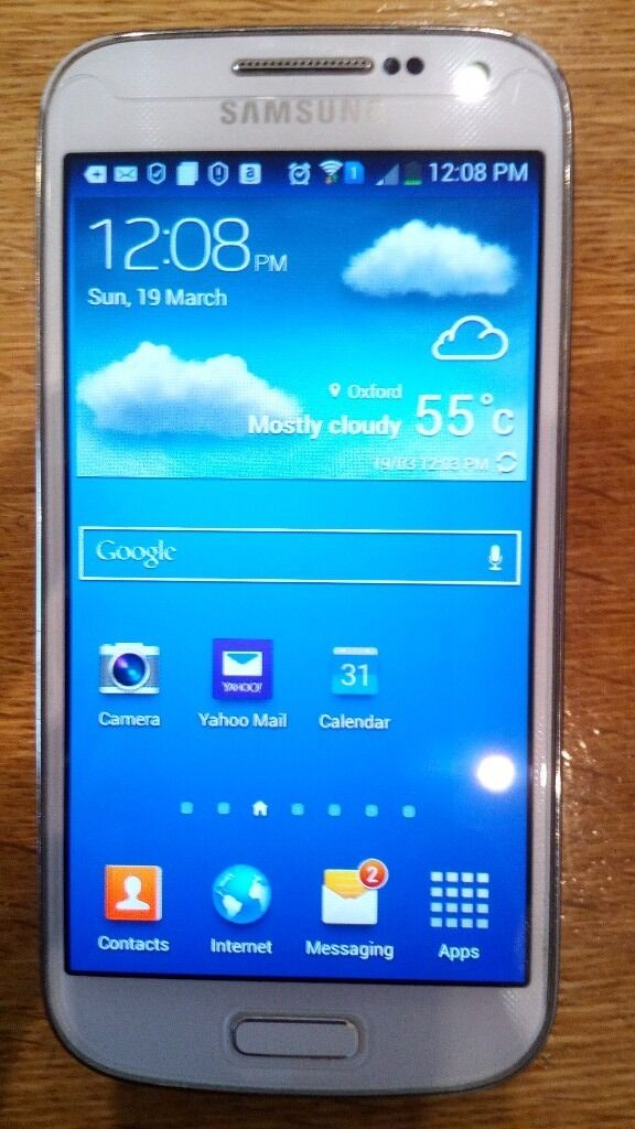 Samsung Galaxy S4 Mini DUOS White GT I9192 factory sim free (unlocked) boxed 3x batteries,headphonesin Oxford, OxfordshireGumtree - Samsung Galaxy S4 Mini DUOS White GT I9192 factory sim free (unlocked) boxed 3x batteries,headphones This item is used. Selling because I bought a new phone. This is the DUOS (Dual sim) version of the popular GT I9190. You can load two sim cards at...