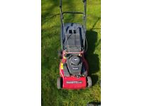 Mountfield sp454 self propelled petrol lawn mower with grass box