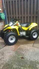 Suzuki lt80 barn find only had 3 tanks of fuel from new
