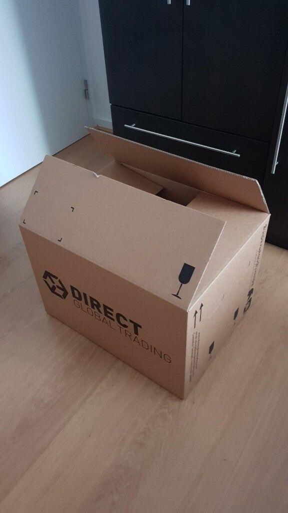 12c5ab92e80 10x Large Moving Boxes (60 x 45 x 40cm)