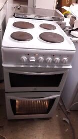 indesit 50cm wide cooker with seperate grill and oven very good working cond £75 ono can deliver