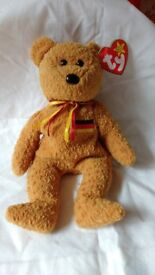 """Beanie baby """"Germania"""", mint condition, collectable, rare find"""