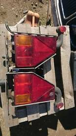 Trailer lights and markers from Ifor Williams CT177