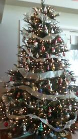 SOLD 8ft Artificial Christmas Tree
