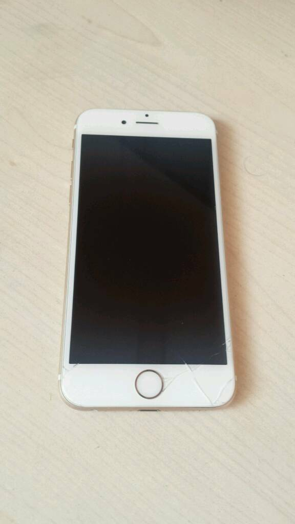 Cheap iphone 6 16gb gold on EEin Hatfield, HertfordshireGumtree - Hi this iphone 6 has small crack on the bottom right of screen but it doesnt affect the screen works all fine look at the pictures