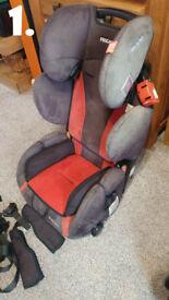 x2 RECARO Young Sport car seat Grp 1-2-3