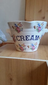 Large cream bowl