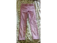NEW PINK GEORGE JEGGINGS