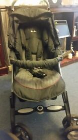 Silvercross full travel system - pushchair and accessories