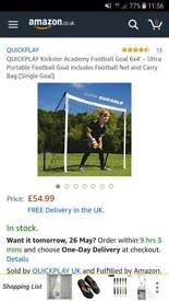 Kids brand new football goal
