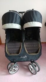 Baby Jogger city mini double pushchair stroller