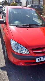 hyundai getz 1.4 57reg 5 door only 53000 miles 2 owners a/c pas c/l e/w very clean inside & out
