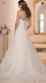 Brand New With Tags Stella York Organza Lace Wedding Dress Size 18