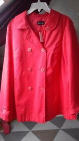 george red jacket/coat size 14
