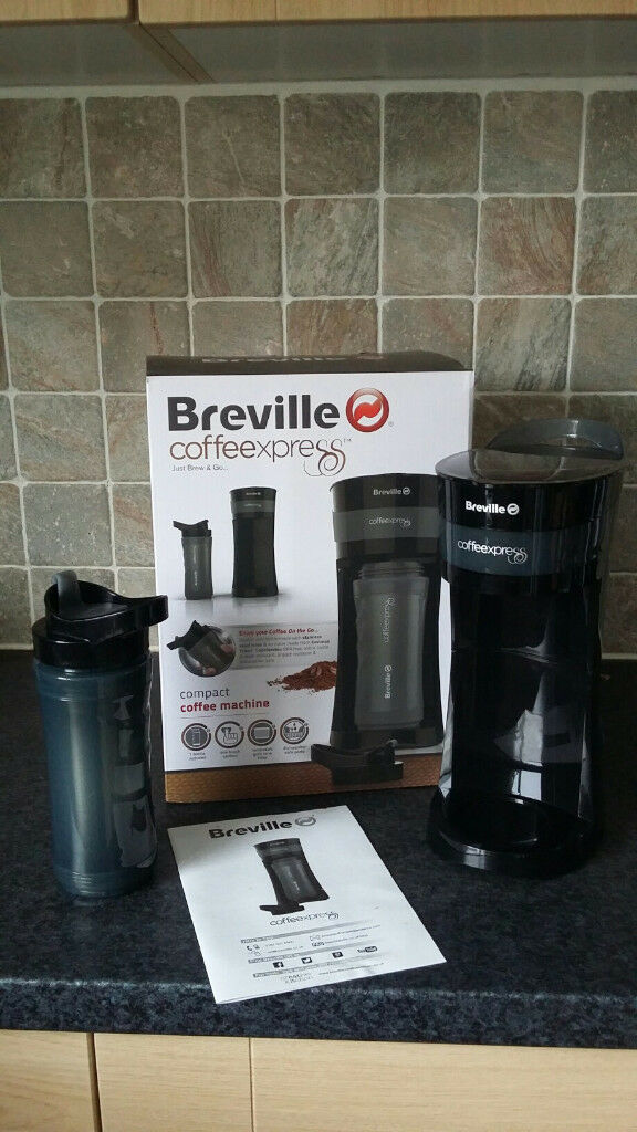 Breville Coffee Express Maker With Cup Boxed And In Excellent Condition In Durham County Durham Gumtree