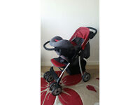 Huck brand Baby Pram/Push chair/Buggy (Three ways use ,Travel system) and Baby Walker (Foldable)