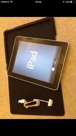 APPLE IPAD 1st generation 64gb black wifi
