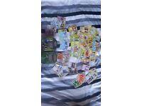 Large amount of pokemon original 1996 card with tin