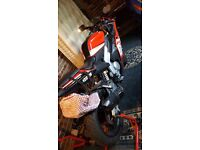 Swaps or £1400. 125cc Rieju rs3 liquid cooled. Yamaha yzf engine!!
