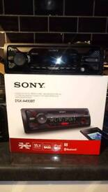 Sony Car Stereo With Bluetooth Brand New
