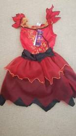 Girls devil costume 7-8
