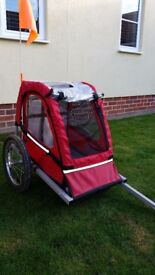 Childrens bike trailer