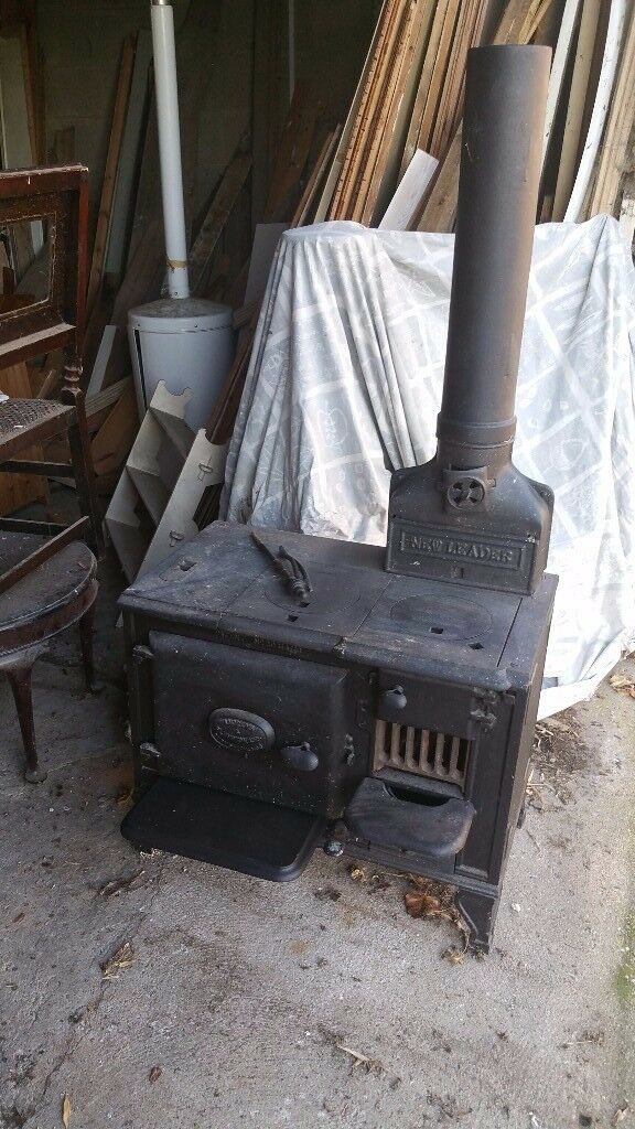 Antique solid fuel stove/cooker