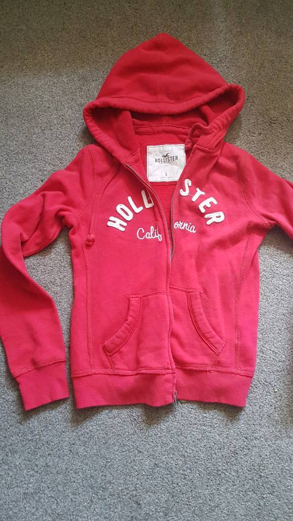 Hollister hoodie size small as new