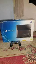 ps 4 jet black 500g like new