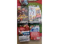 IRONMAN TOYS NEW IN BOXES
