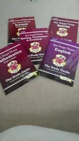 CGP KEY STAGE THREE STUDY BOOKS
