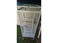 parrot cage +15kg parrot food