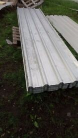 ROOFING SHEETS BOX PROFILE ALUMINIUM 10ft X 3ft FREE DELIVERY !