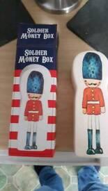 Soldier money box