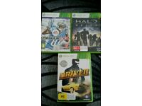 XBOX 360 GAMES 3 FOR 5 POUNDS