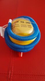 Job Lot 200x Foot pump for water wings beach toys ,balloons etc only 25p each