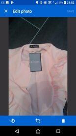 Ruffle jacket size 12-14