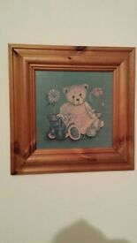 Two Teddy Bear Pictures
