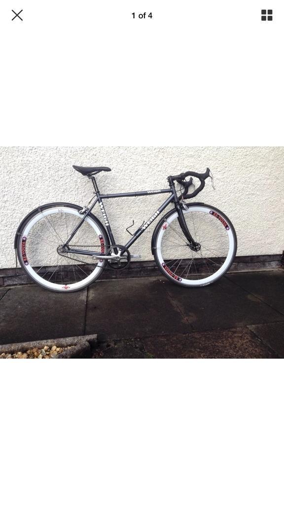 Graham weigh fixie flip flop single speed track bike ideal commuter