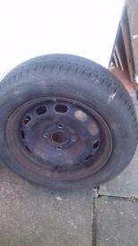 4 X Fiesta Tyres & Rimsp