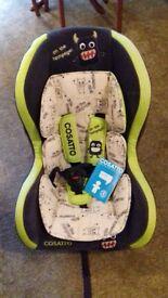 Cosatto car seat 9months-4yrs