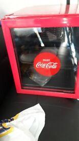 Coke cola fridge
