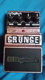 "Digitech ""grunge"" distortion pedal"